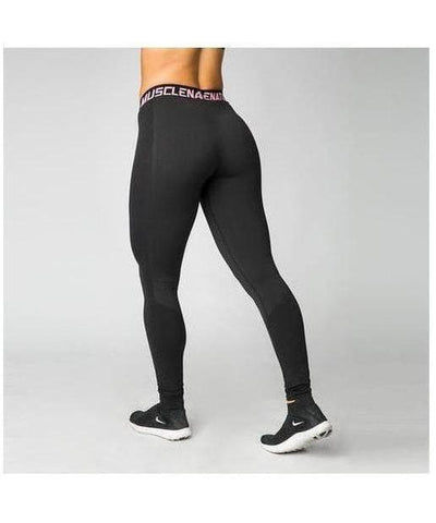 Muscle Nation Luxe Seamless Leggings Black-Muscle Nation-Gym Wear