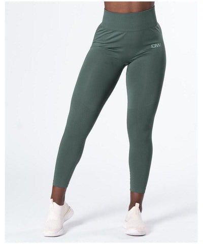 ICIW Define Seamless High Waited Leggings Jungle Green