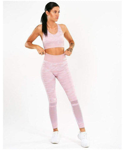 ICIW Seamless Leggings Pink Camo
