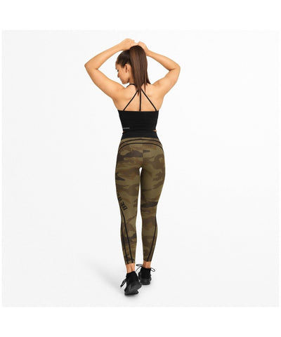 Better Bodies Camo High Waisted Leggings Green Camo