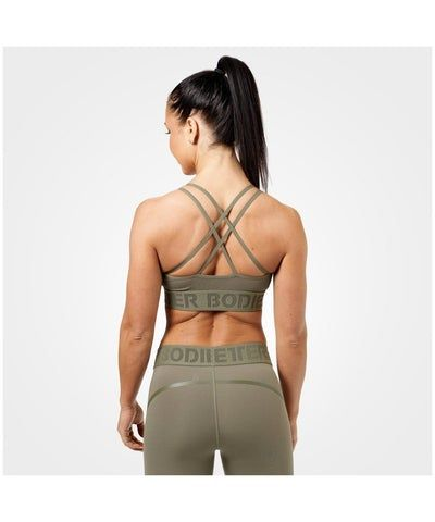 Better Bodies Astoria Sports Bra Green