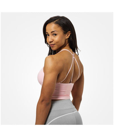 Better Bodies Astoria Seamless Sports Bra Pink-Better Bodies-Gym Wear