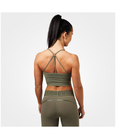 Better Bodies Astoria Seamless Sports Bra Green