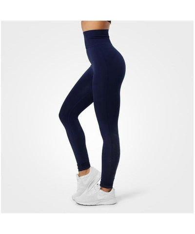 Better Bodies Bowery High Waisted Leggings Navy-Better Bodies-Gym Wear