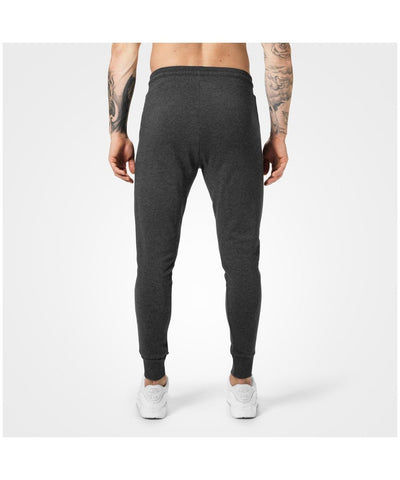 Better Bodies Tapered Joggers Graphite Melange Grey-Better Bodies-Gym Wear