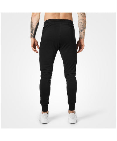 Better Bodies Tapered Joggers Black-Better Bodies-Gym Wear