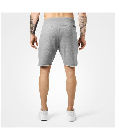 Better Bodies Hudson Sweat Shorts Grey-Better Bodies-Gym Wear
