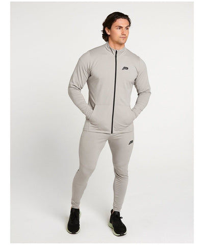 Pursue Fitness Lightweight City Jacket Grey-Pursue Fitness-Gym Wear