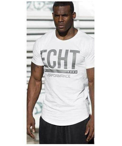 Echt Mens Performance T-Shirt Frost Grey-Echt-Gym Wear