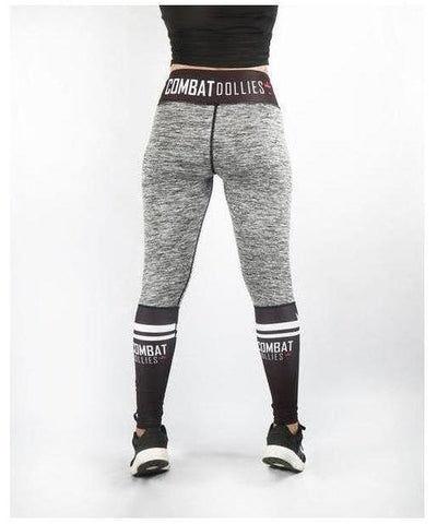 Combat Dollies Crossfit Fitness Leggings Grey