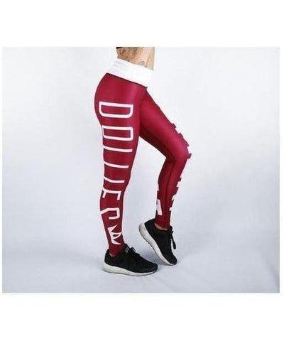 Combat Dollies Tyrian Fitness Leggings-Combat Dollies-Gym Wear