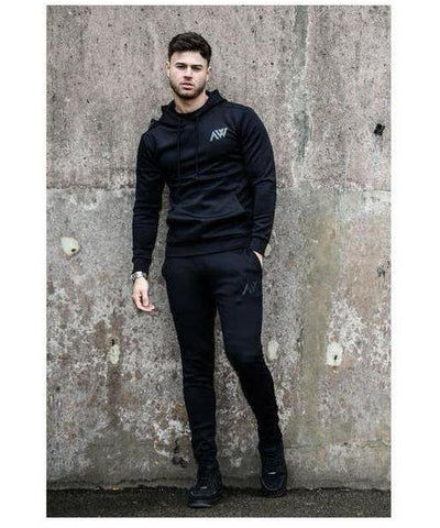 Aspire Wear Motion Hoodie Black-Aspire Wear-Gym Wear