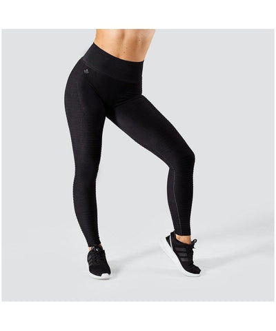 Workout Empire Regalia Flow High Waisted Leggings Black