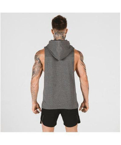Squat Wolf Adonis Hoodie Grey-Squat Wolf-Gym Wear