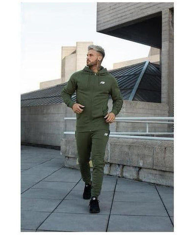 Aspire Wear Luxe Joggers Khaki-Aspire Wear-Gym Wear