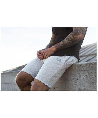 Aspire Wear Luxe Shorts Space Grey-Aspire Wear-Gym Wear