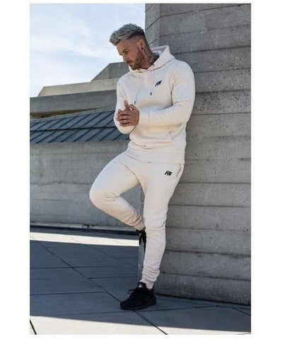 Aspire Wear Luxe Hoodie Sand-Aspire Wear-Gym Wear