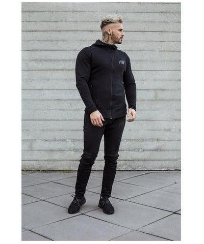Aspire Wear Tech 2.0 Hoodie Stealth Black-Aspire Wear-Gym Wear