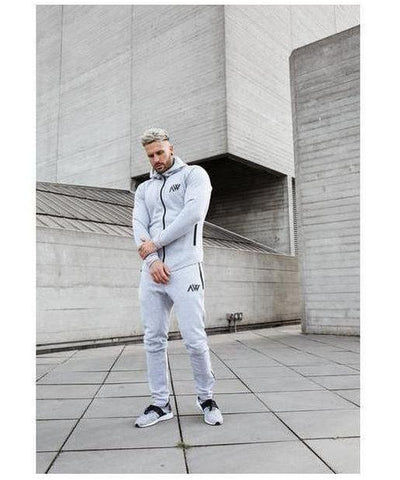 Aspire Wear Tech 2.0 Hoodie Lunar Grey-Aspire Wear-Gym Wear