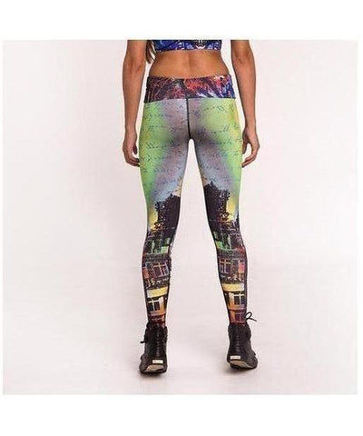 Graffiti Beasts 2ESAE Fitness Leggings-Graffiti Beasts-Gym Wear