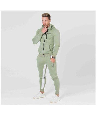 304 Clothing RJ Hoodie Sage-304 Clothing-Gym Wear
