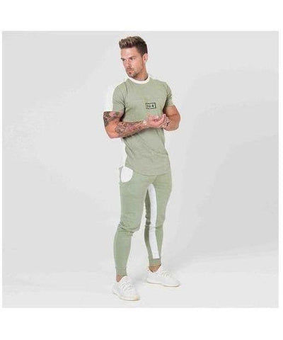 304 Clothing RJ T-Shirt Sage-304 Clothing-Gym Wear