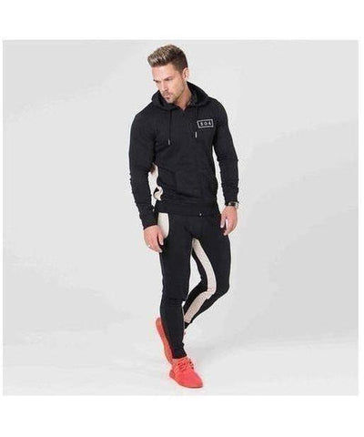 304 Clothing RJ Hoodie Black-304 Clothing-Gym Wear