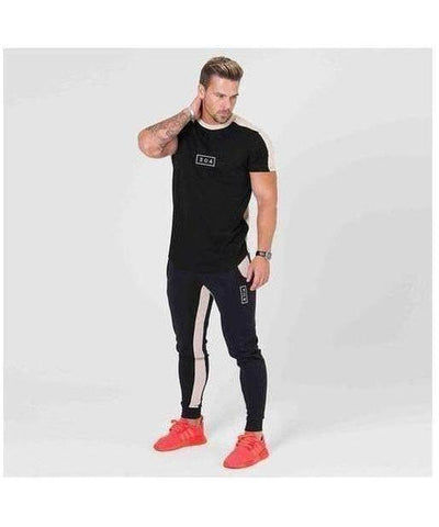 304 Clothing RJ T-Shirt Black-304 Clothing-Gym Wear