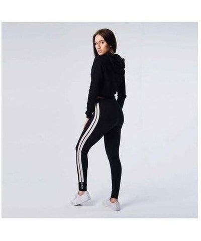 304 Clothing Club Leggings Black-304 Clothing-Gym Wear