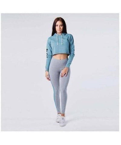 304 Clothing Club Leggings Grey-304 Clothing-Gym Wear
