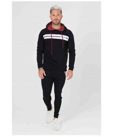 304 Clothing Jackson Hoodie Black-304 Clothing-Gym Wear