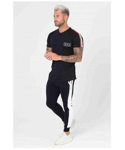 304 Clothing Cult T-Shirt Black-304 Clothing-Gym Wear