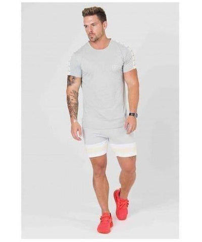 304 Clothing Cult T-Shirt Grey-304 Clothing-Gym Wear