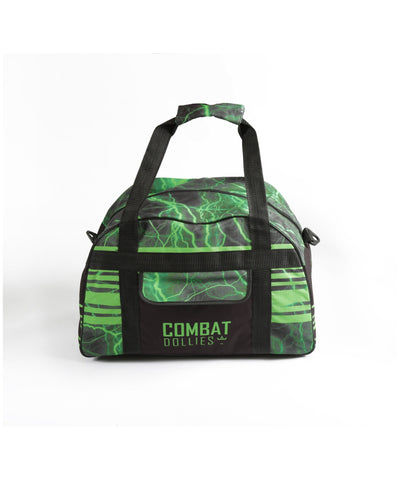 Combat Dollies Green Lightning Sports Bag-Combat Dollies-Gym Wear