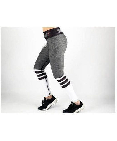 Combat Dollies Crossfit Fitness Leggings Slate-Combat Dollies-Gym Wear