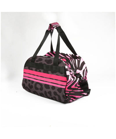 Combat Dollies Wild Pinks Sports Bag-Combat Dollies-Gym Wear