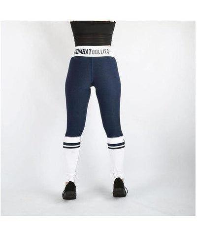 Combat Dollies Navy Crossfit Fitness Leggings