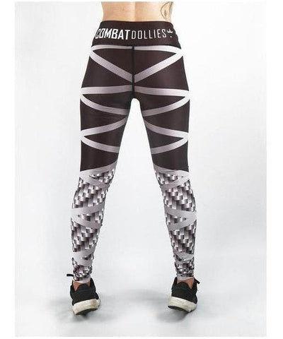 Combat Dollies Carbon Steel Fitness Leggings-Combat Dollies-Gym Wear