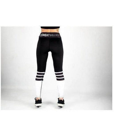 Combat Dollies Crossfit Fitness Leggings Black-Combat Dollies-Gym Wear