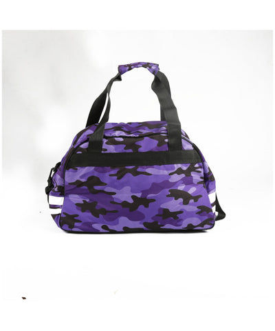 Combat Dollies Purple Camo Sports Bag-Combat Dollies-Gym Wear