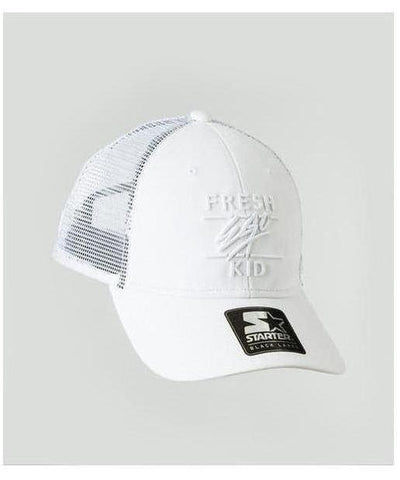 Fresh Ego Kid Mesh Trucker Cap White-Fresh Ego Kid-Gym Wear