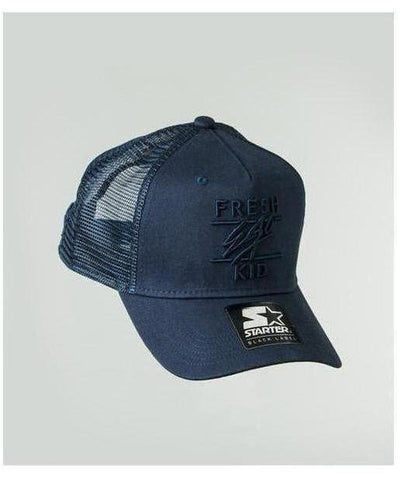Fresh Ego Kid Mesh Trucker Cap Navy-Fresh Ego Kid-Gym Wear
