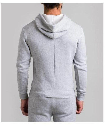 Fresh Ego Kid Towelling Hoodie Grey-Fresh Ego Kid-Gym Wear