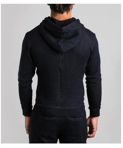 Fresh Ego Kid Towelling Hoodie Black-Fresh Ego Kid-Gym Wear