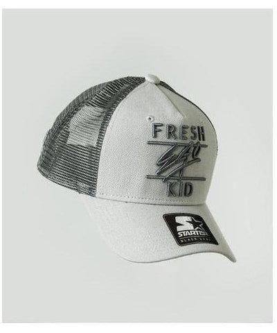 Fresh Ego Kid Mesh Trucker Cap Grey-Fresh Ego Kid-Gym Wear