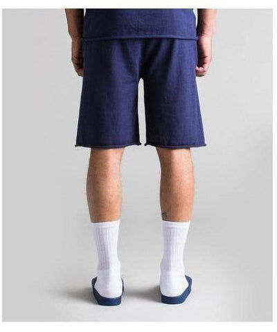 Fresh Ego Kid Knitted Shorts Navy-Fresh Ego Kid-Gym Wear