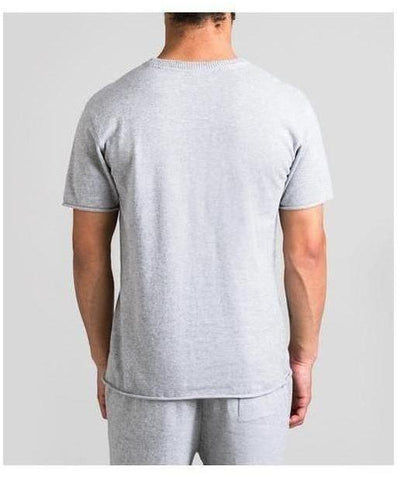 Fresh Ego Kid Knitted T-Shirt Grey-Fresh Ego Kid-Gym Wear