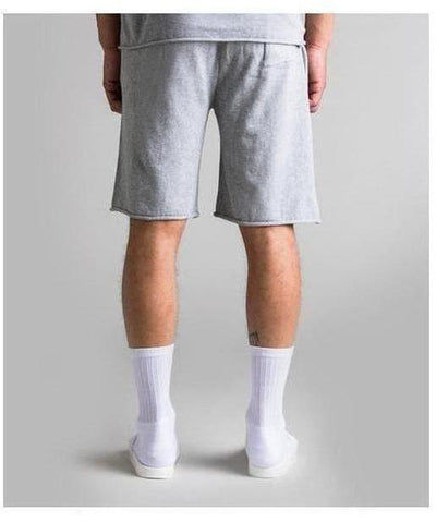 Fresh Ego Kid Knitted Shorts Grey-Fresh Ego Kid-Gym Wear