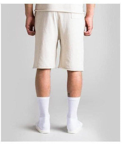 Fresh Ego Kid Knitted Shorts Cream-Fresh Ego Kid-Gym Wear