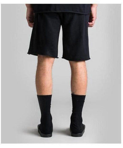 Fresh Ego Kid Knitted Shorts Black-Fresh Ego Kid-Gym Wear